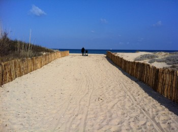 ...kurz darauf am Strand in st Tropez...